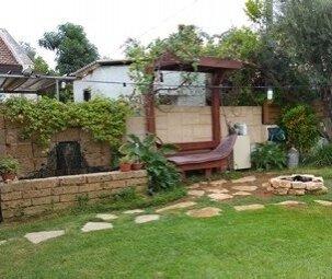 הקמת גינה עם דשא סינטטי